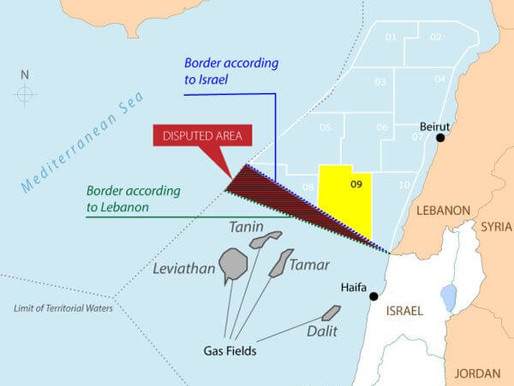 Israel and Lebanon to Negotiate Maritime Border Next Week