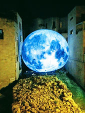 Jerusalem old city Israel tour guide travel light festival moon Hezekiah wall bible