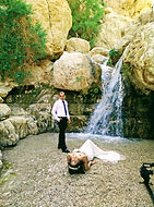 Ein Gedi Judean desert waterfall canyon hike oasis wedding trash the dress Israel hike tour tour company israel culinary tour of israel private tour guide of israel personalized israel experience bar or bat mitzvah trip to israel