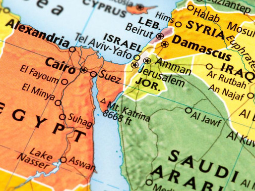 Online Class Tomorrow: Israel in the Middle East - Threats, Challenges and Opportunities