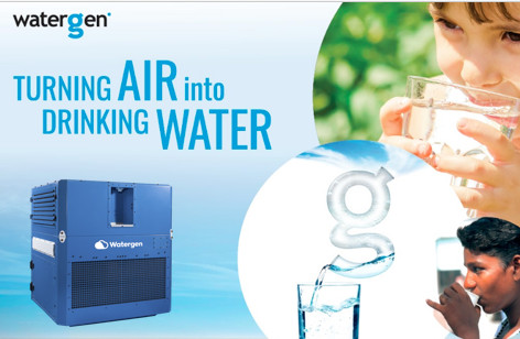 Creating Water from Thin Air - VIDEO