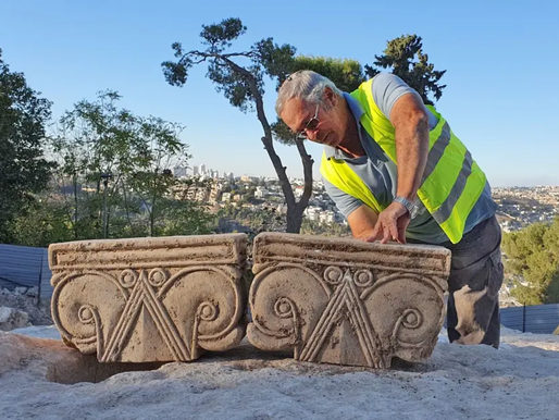 Incredible Biblical Royal Structure Found at Jerusalem's Lookout