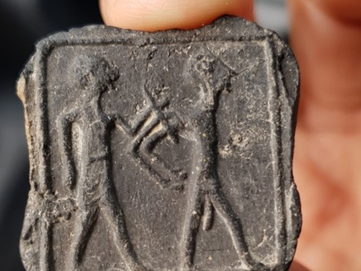 6-Year Old Kid on Tour Finds Unique Archaeological Find from 3200-3500 Years Ago