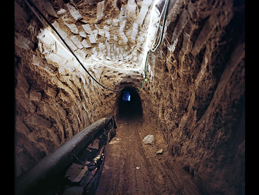 Egypt has destroyed 3000 tunnels in/out of Gaza