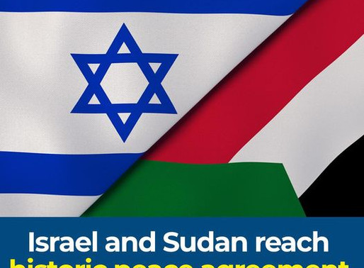 Yes, Yes, Yes. Sudan is [Finally] Making Peace with Israel