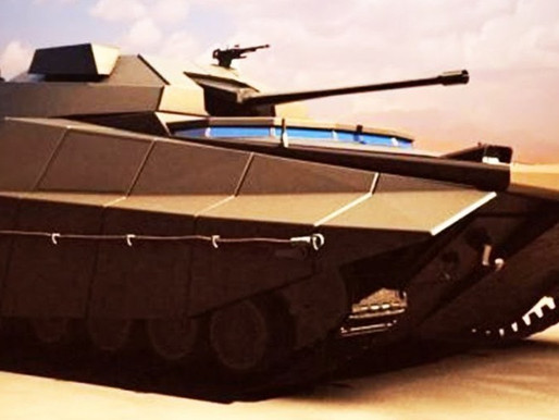 "The New Israeli ""Tank"" has an Xbox Controller, AI & Fighter-Jet Tech"