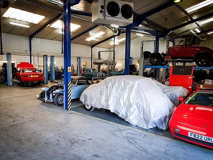 classic car restoration services, garage