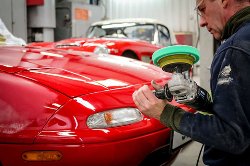 classic car restoration services, garage