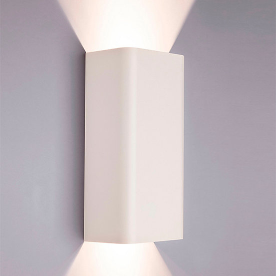Applique Murale LED 'Ardiège'Blanc 2 xGU10 Sans Ampoule