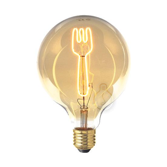Ampoule LED E27 'Les Autels' ambré Dimmable
