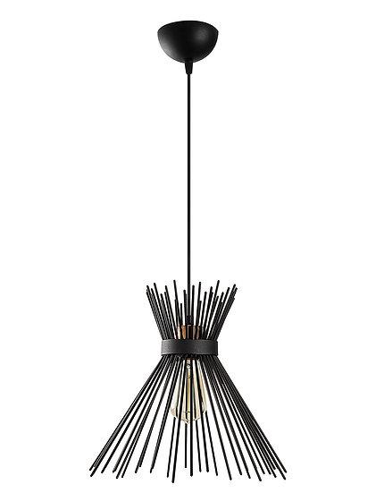 Suspension LED 'Capens'Noir 1 x E27