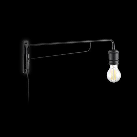 Applique Murale LED 'Flavignerot'Noir 1 xE27
