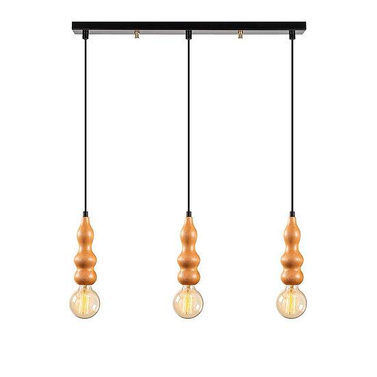 Suspension LED 'Estevelles' 945'Noir 3 xE27