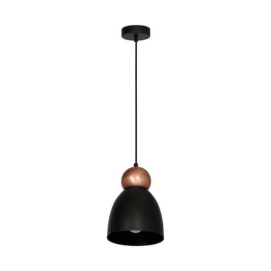Suspension LED 'Crulai' 1 xE27 Métal Sans Ampoule