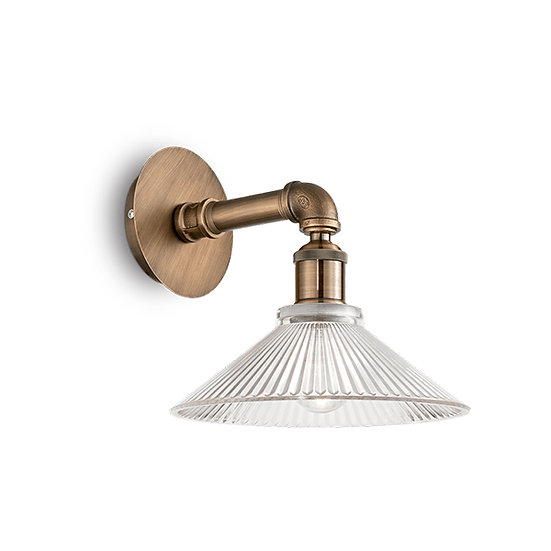 Applique Murale LED 'ASTRID' 1 xE27 Ampoules Non Fourni