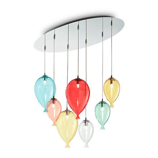Suspension LED 'Francheville' 7 xG9 Ampoules Fourni