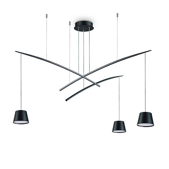 Suspension LED 'FISH' 3 Ampoules 18W