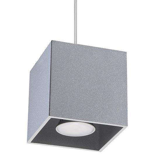 Suspension LED 'Cilly' Gris IP20Câble AjusTable 1 xGU10 Sans Ampoule