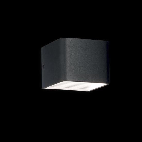 Applique Murale LED 'Foissy'Noir 6W 360Lm 3000k