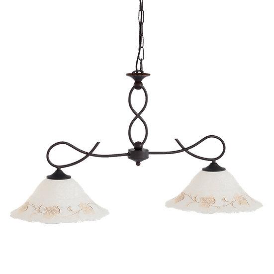 Suspension LED 'Criquetot-sur-Ouville' 2 xE27 Ampoules Non Fourni