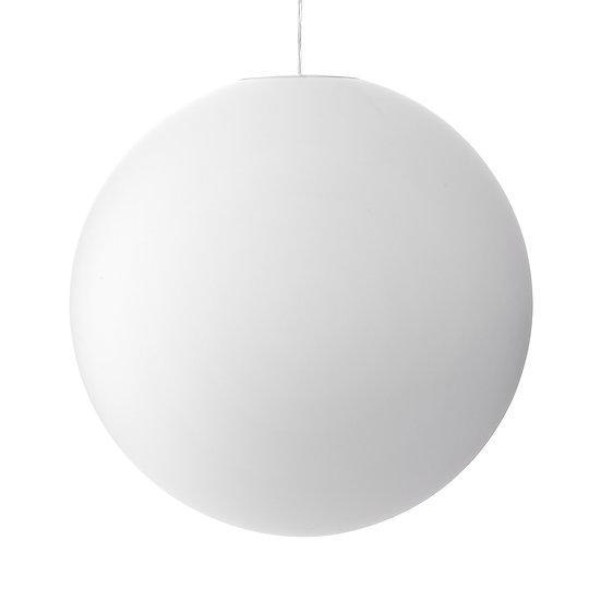 Suspension LED En Verre 'Sinceny' 600 mmBlanc 1 x E27