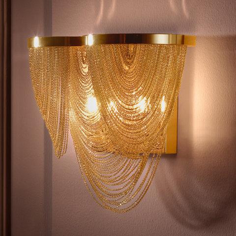Applique LED 'Avremesnil' 2x G9 Avec Ampoule Blanc Chaud
