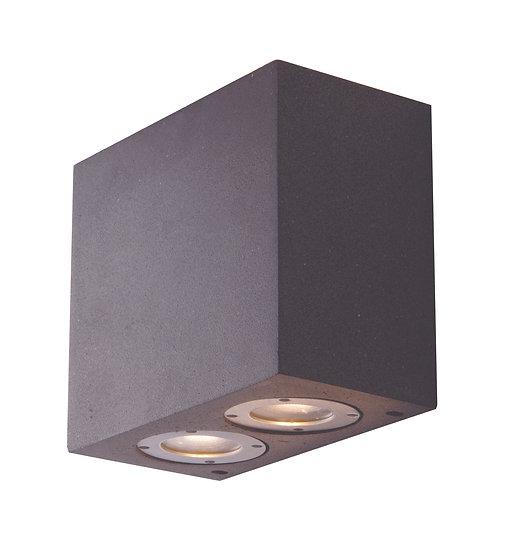 Applique Murale LED 'Fosseux' 4 xGU10 Sans Ampoule