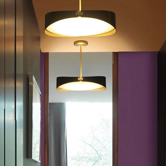 Suspension LED 'Escalquens' Satin LED 2x1700Lm 2700k