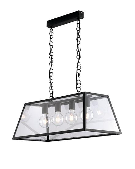 Suspension LED 'Estrée' 4 xE27
