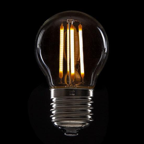 Ampoule LED 'Muille-Villette' Filament Vintage G45 4W xE27 400Lm