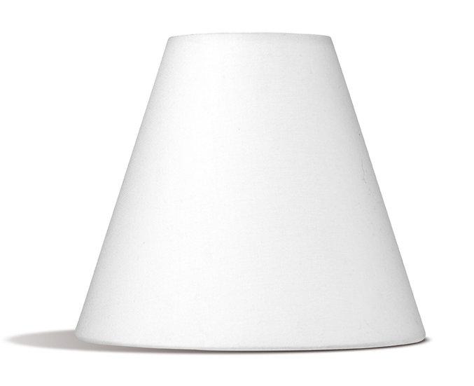 Abat Jour 'Paluel' Lampe De Table/Chevet-Sol Coton Conique 7x15x16cm E14