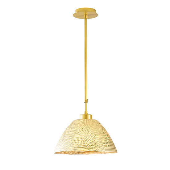 Suspension LED 'Gamarthe'Or 1 x E27