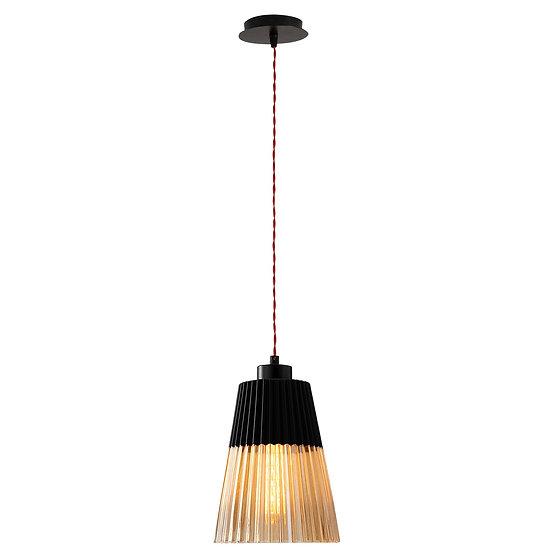 Suspension LED 'Garris'Noir 1 x E27