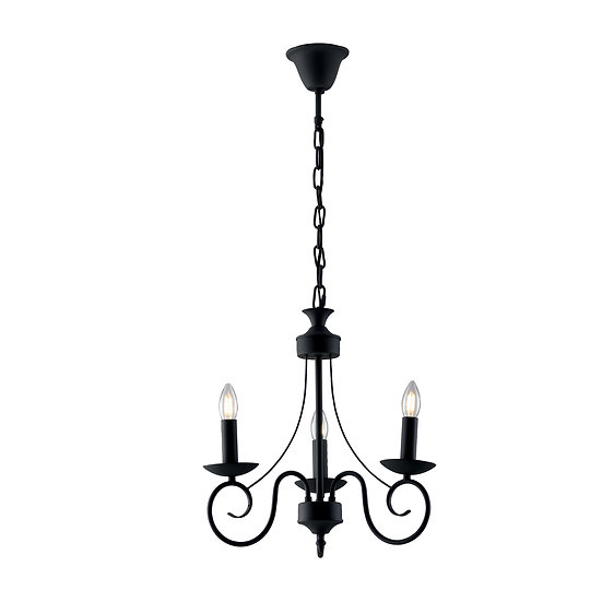 Suspension LED 'Fiennes' 3 xE14 Sans Ampoule