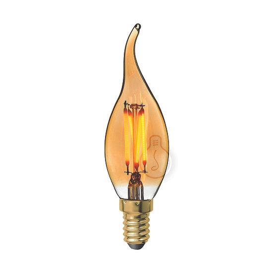 Ampoule LED E14 'Hary' ambré Dimmable