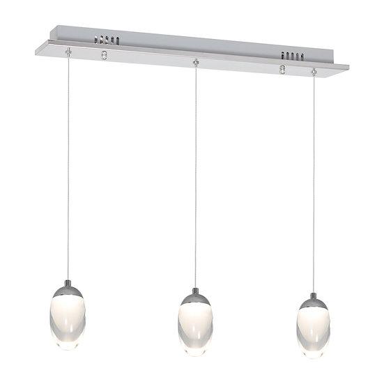 Suspension LED 'Clais' 15W 1050LmMétal_Acrylique