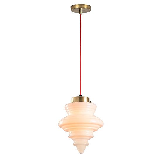 Suspension LED 'Gurmençon'Rouge 1 x E27