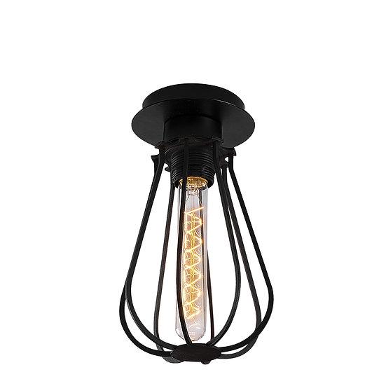 Suspension LED 'Cazaunous'Noir 1 x E27