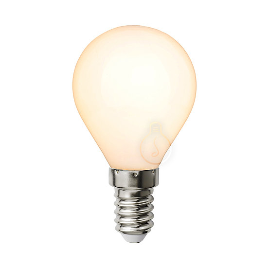 Ampoule LED E14 'Chavigny' Opaque - Dimmable
