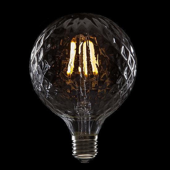 Ampoule LED 'Ô-de-Selle' Filament Vintage G95 6W xE27 600Lm