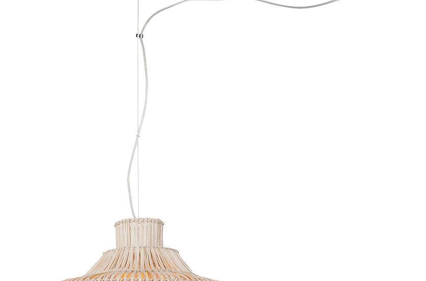 Suspension LED 'Grugny' Jute Ø50x60cm