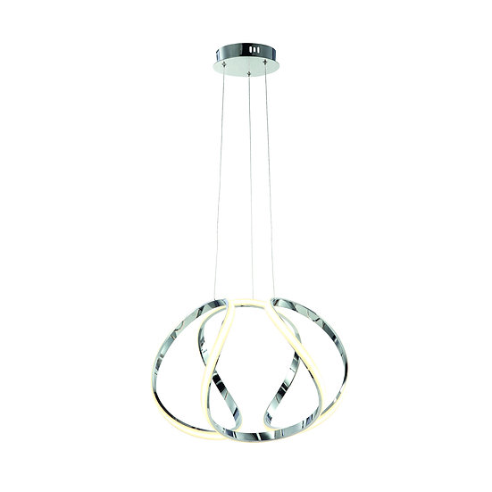 Suspension LED 'Guerny' 50W 3000Lm Métal + Plastique