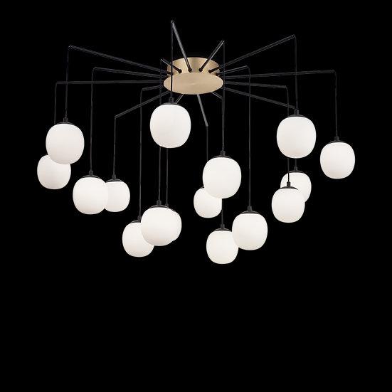 Suspension LED 'Bouilland' 16x G9 Avec Ampoule