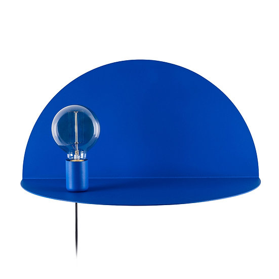 Applique Murale LED 'Auchel 526'Bleu 1 xE27