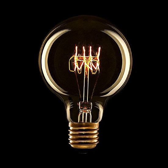 Ampoule Vintage 'Sortosville-en-Beaumont' E27 G80 30W