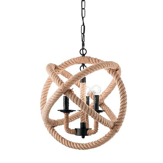 Suspension LED 'CORDA' 3 xE14 Ampoules Non Fourni