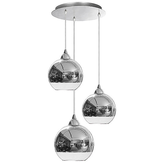 Suspension LED 'Guerny' 3 xE27