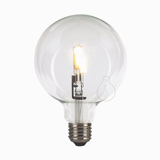 Ampoule LED E27 'Gricourt' Transparent Blanc Chaud Dimmable