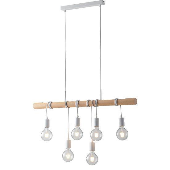 Suspension LED 'Boursin' 6x E27