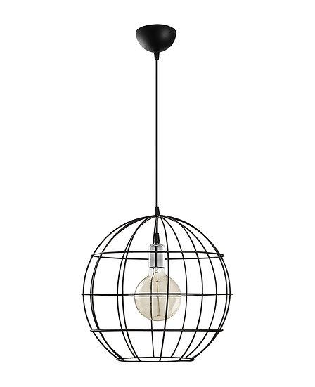 Suspension LED 'Hectomare02' Noir 1 x E27